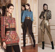 fashion fall  2013  | ... Balmain, Giuseppe Zanotti, Saint Laurent: BALMAIN Pre Fall 2013-2014   BAROQUE!!!