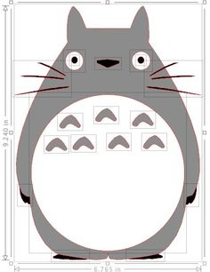 Totoro template:
