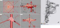 Spoutnik Architecture - Tensile Structure - grasshopper