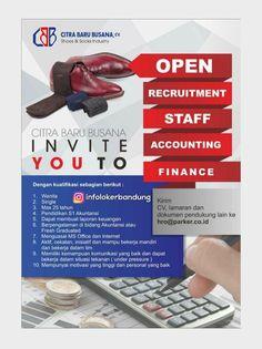 Lowongan Kerja CV. Citra Baru Busana Bandung Desember 2017