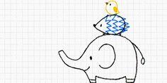 7. かんたんに描けるかわいい動物 – ボールペンで描く!プチかわいいイラスト練習帳