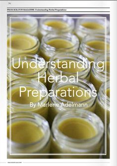 Understanding Herbal Preparations