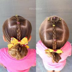 little-girl-hairstyles - Fab New Hairstyle 1 Girls Hairdos, Princess Hairstyles, Flower Girl Hairstyles, Girls Braids, Little Girl Hairstyles, Short Hairstyles For Women, Pretty Hairstyles, Beautiful Haircuts, Short Hair Cuts