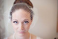 Bandeau Veil from The Modern Vintage Bride