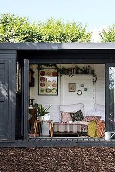12 x 8 Waltons Contemporary Summerhouse with Side Shed 2019 Gartenhäuser aus Holz www.de/ The post 12 x 8 Waltons Contemporary Summerhouse with Side Shed 2019 appeared first on Fabric Diy. Contemporary Summer Houses, Contemporary Garden Rooms, Contemporary Decor, Contemporary Cottage, Summer House Interiors, Summer House Furniture, Garden Furniture Uk, Garden Shed Interiors, Summer House Garden