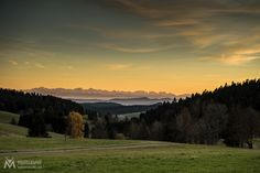 Swiss Alps from the Black Forest by Andreas Müller - Photo 128179925 - 500px