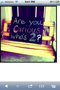 Chalkboard welcome sign. Super easy, super cute!!
