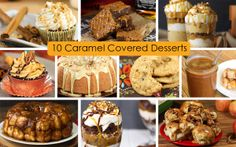 10 Caramel Covered Desserts #trifle #recipes #dessert @Mairead Greaney Magazine