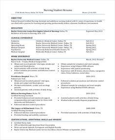 7 Nursing Student Skills for Resume 4 Student Nurse Resume, New Grad Nursing Resume, Rn Resume, Student Resume Template, Nursing Resume Template, Resume Skills, Nursing Students, Resume Design Template, Resume Templates