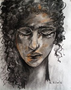Befelé figyelő. Techno, Portrait, Art, Art Background, Headshot Photography, Kunst, Portrait Paintings, Performing Arts, Techno Music