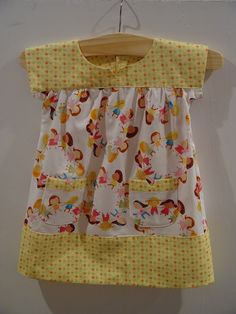 cute little girl fabric