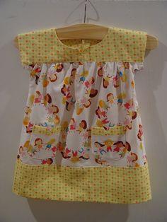 cute little girl fabric