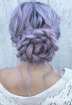57 Amazing Braided Hairstyles for Long Hair for Every Occasion Long Hair Braids: Braided Hairstyles for Long Hair: Floral Three-Braid Bun Cool Braid Hairstyles, Pretty Hairstyles, Wedding Hairstyles, Hairstyles Pictures, Hairstyles 2016, Spring Hairstyles, Updo Hairstyle, Braided Ponytail, Braided Buns