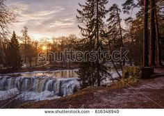 The famous Keila-Joa waterfall in Estonia. Shutterstock contributor.