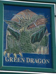The Green Dragon, Blind Lane, Flackwell Heath, UK ->