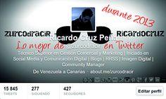 Lo mejor de @Ricardo Cruz Peña en #Twitter durante 2013