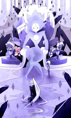 in_the_presence_of_white_diamond___steven_universe_by_elemental_fa-da9zfzw.jpg (1024×1707)