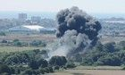 Shoreham plane crash: seven dead after fighter jet hits cars during air show | UK news | The Guardian