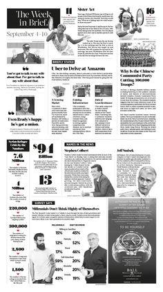The Week in Brief. 2015 Sep. 4–10|Epoch Times #TheWeekinBrief. #newspaper #editorialdesign