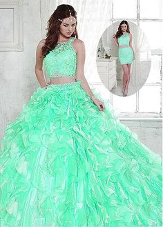 b03514b8f8e 16 Best Two Piece Quinceanera Dresses images