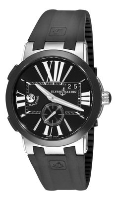 e700f3d1731 Ulysse Nardin Executive Dual Time Black Dial Automatic Mens Watch  243-00-3-42 ... from amazon.ca on Wanelo