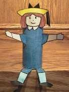Make everyone's favorite troublemaker-- Madeline! Craft her with construction paper and a toilet paper roll.