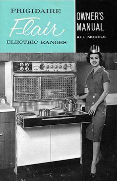 Frigidaire Flair vintage stove 1960's