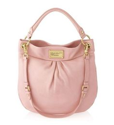 Marc by Marc Jacobs Classic Q Hillier Hobo Bag in Apricot Rose...yes I'm on a hobo bag bender.