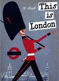 Miroslav Sasek ~ This is London
