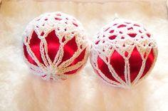 freechristmas chrochet | CROCHET CHRISTMAS ORNAMENT COVERS - Crochet — Learn How to Crochet