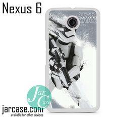 Star Wars Art Storm Trooper 3 Phone case for Nexus 4/5/6