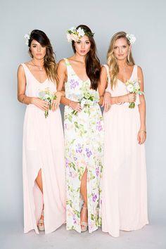 50 Chic Bohemian Bridesmaid Dresses Ideas | Boho ...