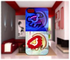 Simba The Lion King Logo iPhone 4/4S iPhone 5 Galaxy S2/S3/S4 | GlobalMarket - Accessories on ArtFire