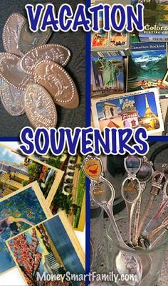 Vacation Souvenirs that are clever and frugal!
