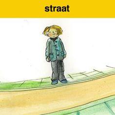 oversteken straat spel voor de kinderen van groep 3&4.