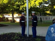 Marines, friends remember local soldier at flag ceremony