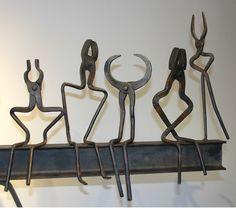 Blacksmith Tool Sculpture