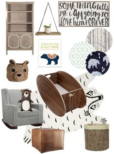 Bear themed nursery