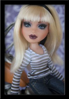 #Bratz that was redone by a friend on Internet.