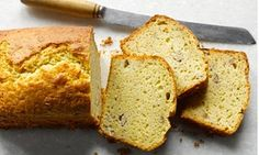 The BEST banana bread.  Melted butter banana cake, I added chic chips and lime zest. Tasty!