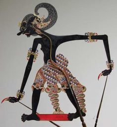 Wayang Purwa Bima puppet Shadow Puppets, Samurai, Culture, Java, School, Places, Schools, Samurai Warrior, Lugares