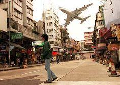 Hong Kong Old Kowloon airport by jbenson2, via Flickr