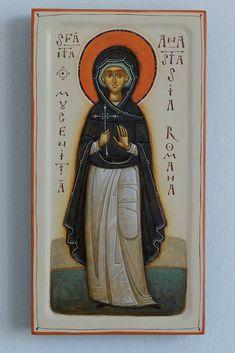Faith Of Our Fathers, Small Icons, Heart Of Jesus, Byzantine Icons, Orthodox Icons, Sacred Heart, Fresco, Catholic, Modern Art
