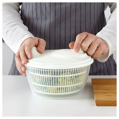 IKEA - TOKIG Salad spinner white