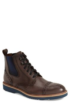 uk availability 998f8 36bba Lloyd  Brighton  Cap Toe Boot (Men) Casual Boots, Men Casual,