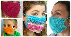10 Face Mask Crochet Free Patterns face mask for kids pattern free 10 Face Mask Crochet Free Patterns Crochet Cord, Diy Crochet, Crochet Baby, Simple Crochet, Quick Crochet, Crochet Crafts, Crochet Projects, Crochet Butterfly Free Pattern, Crochet Patterns