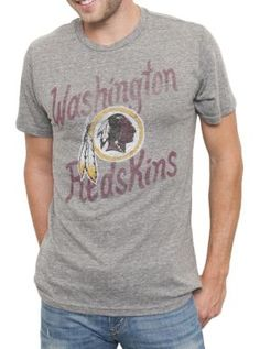 NFL Washington Redskins Vintage Inspired Kick Off Crew - Men's ...
