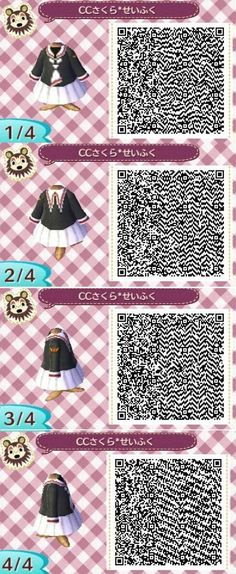 Clothing CardCaptor Sakura ( Sakura's costumes, Li, school uniform)