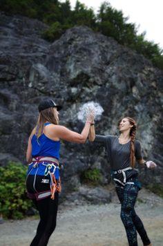 Let's go rock climbi
