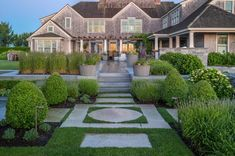 Landscape Architecture by Gregory Lombardi Design Landscape Plans, Garden Landscape Design, Landscape Architecture, Landscape Designs, Modern Exterior House Designs, House Exteriors, Outdoor Rooms, Outdoor Decor, Outdoor Living